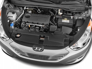 2011 hyundai tucson transmission fluid change