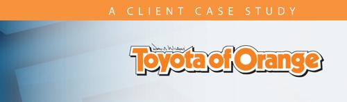 Toyota Of Orange >> Case Study Toyota Of Orange Recall Masters