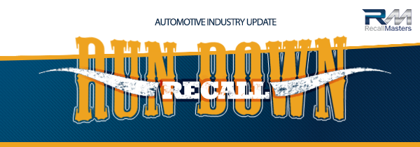 Recall Rundown eNewsletter from Recall Masters